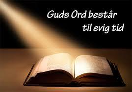 Guds Ord består
