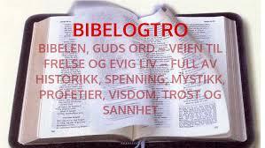 bibelogtro